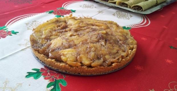 Torta de aveia e banana