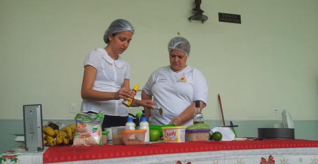 Oficina de culinária 10/11/2012