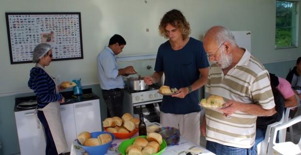 Oficina de culinária 29/06/2013