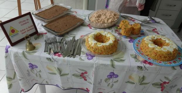 Oficina de culinária 18/1/2014