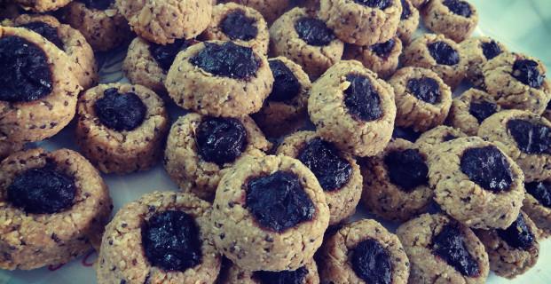 Cookie integral recheado