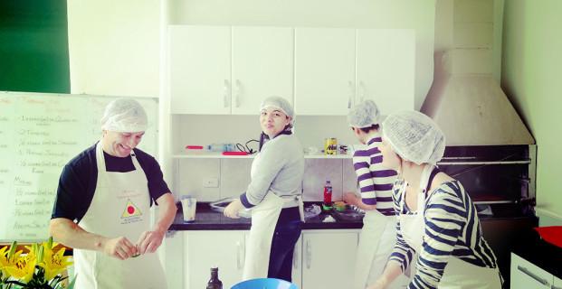 Oficina de culinária 25/10/2014