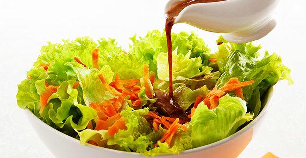 Molho agridoce para salada