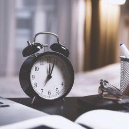 O tempo e como aproveitá-lo
